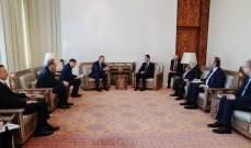 الاسد التقى نائب رئيس الوزراء الروسي وبحث معه العلاقات المشتركة