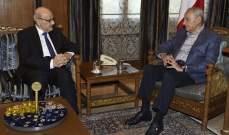 بري التقى الأمين العام للمجلس الأعلى اللبناني-السوري ورئيس مصرف الإسكان