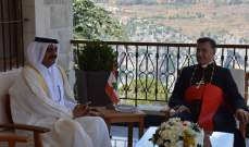 الراعي استقبل سفير قطر وترأس اجتماع لجنة إدارة وادي قاديشا