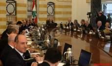 النشرة: لا اتفاق على السلسلة بالحكومة والجلسة المقبلة الخميس