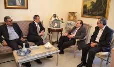 مدير عام الأونروا زار صيدا والتقى السعودي والبزري وسعد