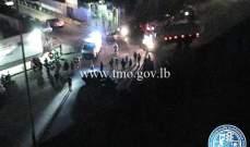 التحكم المروري: قطع السير على أوتوستراد شارل الحلو