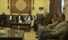 حسن الدين التقى وفداً من تجمع مزارعي الموز ونقابات المصدرين في الجنوب