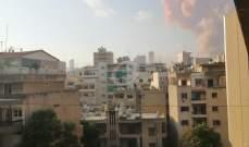 النشرة: تضرر السوق التجاري في برج حمود بالكامل جراء انفجار المرفأ