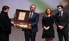 الأسد يمنح اسم وزير الخارجية الراحل وليد المعلم وسام الاستحقاق