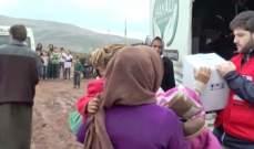 دخول 85 شاحنة مساعدات إنسانية أممية إلى إدلب السورية عبر تركيا