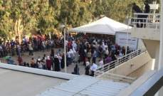 زحمة أمام مستشفى بيروت الحكومي لاجراء فحص الـ PCR