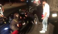الدفاع المدني: جريح جراء حادث سير على أوتوستراد جونية
