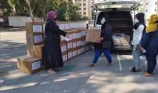 هيئة الإغاثة والمساعدات الإنسانية بدار الفتوى وزعت حصصاً غذائية على العائلات الفقيرة