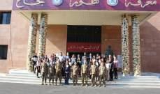 توزيع شهادات على جامعيين خضعوا لدورة بالقانون الدولي الإنساني بكلية فؤاد شهاب