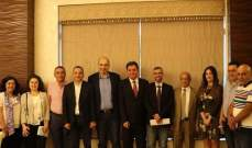 منبر زحلة ينظم لقاء مع جمعية الطاقة الوطنية حول الزراعة في قلب الإقتصاد الإنتاجي