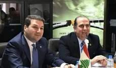 نديم الجميل يزور مقر مجلس العمل اللبناني في دبي