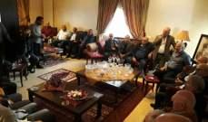 مرشحا القومي وحزب الله عن دائرة زحلة عقدا لقاء في دارة روبير سركيس بكفرزبد