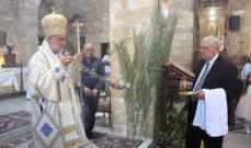 كنائس صور احتفلت بأحد الشعانين وأقامت قداديس وزياحات بالمناسبة