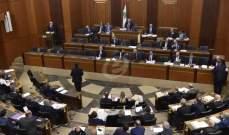 بدء الجلسة العامة لمجلس النواب لدرس وإقرار مشاريع القوانين