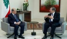 الفرزلي لم يسم رئيسا للحكومة: وضعت ورقة بيضاء بيد الرئيس عون