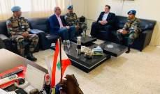 قائد الكتيبة الهندية باليونيفيل التقى رئيس بلدية الهبارية وبحث معه سبل التعاون