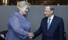 الرئيس عون: لبنان يلتزم تطبيق القرار 1701 فيما إسرائيل تنتهكه