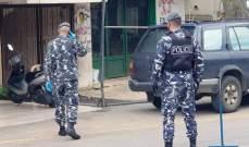 النشرة: عناصر قوى الأمن بحاصبيا أقاموا حاجزا للتدقيق بلوحات السيارات وقمع المخالفات