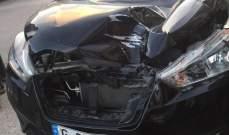 وفاة شاب بحادث صدم على طريق عام القصيبة - عدشيت