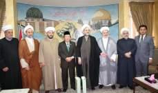تجمع العلماء المسلمين يعزي القادة في ايران بضحايا مشعر منى
