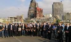الطوائف الأرمنية رفعت الصلاة من أجل لبنان ولراحة أنفس ضحايا انفجار مرفأ بيروت