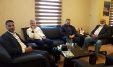 وفد من حزب الله زار رئيس بلدية صيدا محمد السعودي