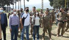 عكر جالت على ألوية وأفواج للجيش بقاعا: الجيش يبذل كل الجهود لمنع ومكافحة التهريب