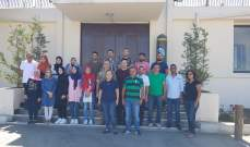 دورات تدريبية لاعداد ناشط للتوعية من مخاطر الألغام للجمعية اللبنانية للرعاية الصحية