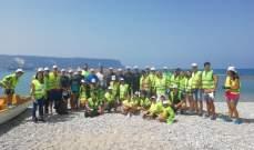 """لجنة """"مهرجان البيئة"""" نظمت حملة تنظيف لشاطئ شكا"""