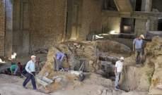 """اكتشاف تحصينات دفاعية في موقع """"الفرير"""" الاثري في صيدا"""