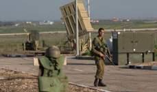 إطلاق صافرات الإنذار في شمال إسرائيل بعد سقوط قذائف من سوريا