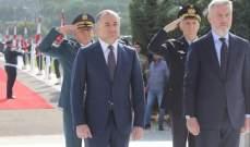 بو صعب: مشاكل لبنان الاقتصادية تفاقمت جراء إيوائه نحو مليون ونصف نازح سوري
