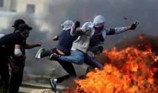 مقتل فلسطيني وإصابة العشرات برصاص الجيش الإسرائيلي في الضفة الغربية