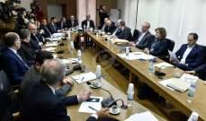 اللجنة الفرعية المنبثقة عن الادارة والعدل تبحث أسس التشكيلات القضائية