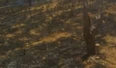 إخماد حريق داخل خيم للنازحين السوريين في تلة الزفير بعكار