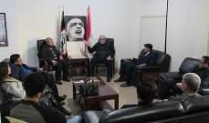 حمدان يستقبل وفودا وتأكيد على أن انتصار سوريا ضد الإرهاب