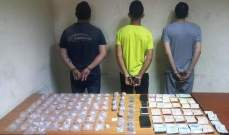 شعبة المعلومات ألقت القبض على أفراد شبكة لترويج المخدرات تنشط بين الدورة وأنطلياس
