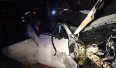 فوج اطفاء بيروت: قتيلة وجريحتان في حادث سير مروع على طريق الكرنتينا