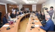 لجنة الاشغال والنقل تابعت موضوع الكهرباء