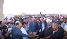 حسن مراد بافتتاح القرية التراثية بيت جدي: المشروع يؤمن 120 فرصة عمل وسيفتح أبوابه للسياح