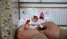 النشرة: ختم محل في صيدا بالشمع الاحمر بعد مصادرة كميات كبيرة من الكربير منه
