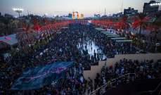 السلطات العراقية: مندسون افتعلوا احتكاكا مع الأمن خلال زيارة الأربعين