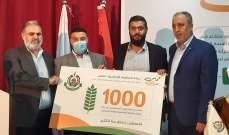 النشرة: حماس تطلق الرزمة الاولى من مشاريع دعم المخيمات الفلسطينية من مخيم عين الحلوة