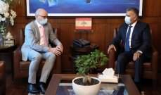 اللواء ابراهيم التقى سفيري الهند وألمانيا
