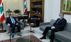 طرابلسي التقى الرئيس عون: على الدولة أن تساهم بالحفاظ على التعليم الخاص