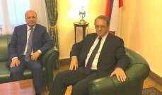 مبعوث الحريري الى موسكو يلتقي بوغدانوف لبحث التوتر على الحدود الجنوبية
