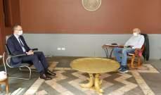 جنبلاط بحث مع سفير تركيا في لبنان المستجدات الراهنة في لبنان والمنطقة