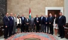 الرئيس عون: ستكون للبنان حكومة نظيفة والحراك الذي حصل فتح الباب امام الاصلاح