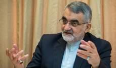 بروجردي: اللوبي الصهيوني يخشى من انضمام اليابان لدائرة المتعاونين مع إيران